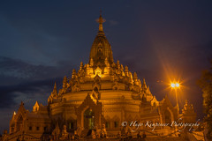 Tooth Relic Pagoda in Yangon City-Myanmar. (KyotoDreamTrips) Tags: buddhism burma chinthe myanmar swetawmyatpaya yangon oothrelicpagoda yangonregion myanmarburma mm
