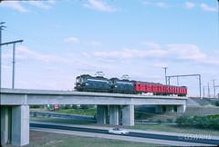 8209B-27 (Geelong & South Western Rail Heritage Society) Tags: aus australia cliftonhill eclass rta victoria victoriapark bridge electric
