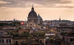Roma - Scorci al tramonto (Andrea di Florio (10.000.000 views!!!)) Tags: roma scorcio tramonto angoli vista veduta panorama landscape sunset nikon d600 reflex italia italy
