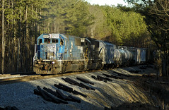 NS6707_Braswell_RockmartGA_01_hires (fullreversal) Tags: 6707 atlantanorthdistrict braswell emd ga mp1090 ns sd60 conrail cr manifest