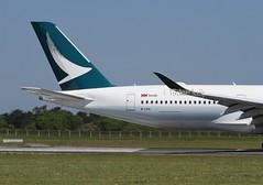 Cathay Pacific                        Airbus A350                                    B-LRX (Flame1958) Tags: cathaypacific cathaypacificairways cathaypacifica350 airbusa350 airbus a350 350 blrx dub eidw dublinairport swire swiregroup 060618 0618 2018 2832