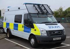 PX62 CZZ (Ben Hopson) Tags: cumbria constabulary police 999 ford transit psu osu public order van riot support unit vehicle emergency carrier shield 2012 px62 czz px62czz