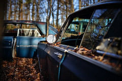 (jtr27) Tags: dsc00739e jtr27 sony alpha a7 alpha7 ilce7 ilce ilc mirrorless canon fd fdn nfd 50mm f14 manualfocus antique vintage car auto automobile junkyard maine newengland