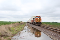 BNSF 5195 (CC 8039) Tags: bnsf trains ac44cw c449w chadwick milledgeville illinois