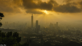 Taipei 101 Cloudy