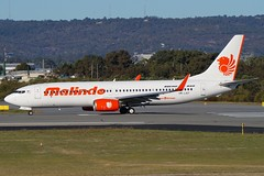 9M-LNY Malindo Boeing B737-800 (johnedmond) Tags: perth ypph westernaustralia malindo australia boeing b737 b737800 aviation aircraft aeroplane airplane airliner plane sel55210 55210mm ilce3500 sony