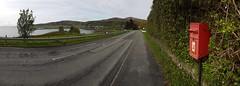 Royal Mail box in Uig, Isle of Skye (Donald Morrison) Tags: royalmail red letter uig isleofskye