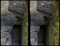 Bernhard Sehring's lair 3-D / CrossEye / Stereoscopy / HDRaw (Stereotron) Tags: sachsenanhalt saxonyanhalt ostfalen harz mountains gebirge ostfalia hardt hart hercynia harzgau roseburg rieder historism crosseye crossview xview pair freeview sidebyside sbs kreuzblick 3d 3dphoto 3dstereo 3rddimension spatial stereo stereo3d stereophoto stereophotography stereoscopic stereoscopy stereotron threedimensional stereoview stereophotomaker stereophotograph 3dpicture 3dimage twin canon eos 550d yongnuo radio transmitter remote control synchron kitlens 1855mm tonemapping hdr hdri raw