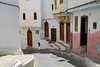 Tangier, Morocco (J K Johnson) Tags: tangier morocco ally interesting narrow doors homes beautiful travels street cobblestone jkjohnson jimjohnson oceania africa windows buildings stairs white colorful houses unique shapes geometry curved curve slope