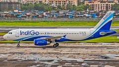 Indigo Airbus A320 VT-IGV Mumbai (VABB/BOM) (Aiel) Tags: indigo airbus a320 vtigv mumbai canon400d