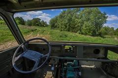 DSC_0062 (Stéphane Piegle) Tags: urbex exploration camion truck épave char militaire abandonné armée