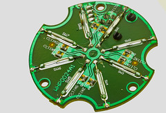 PCB with Reed Swiches (tudedude) Tags: tudedude electronic components workshop electrical model hobby hand bench parts wiring electroniccomponents electroniccircuits optoelectronic opto macro stacked stackedimage imagestacking dorset precision miniature zerenestacker gbr