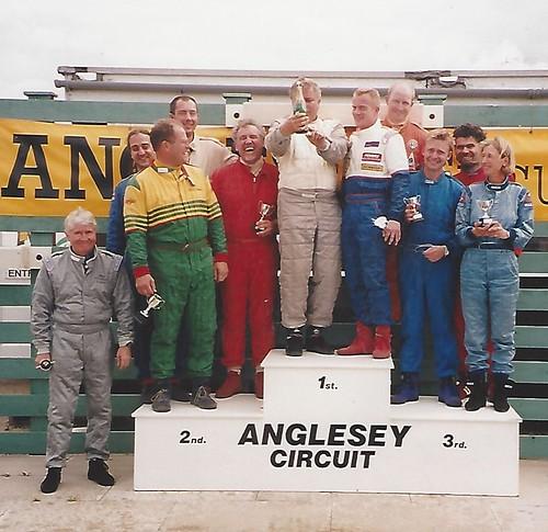 Anglesey Podium 2001