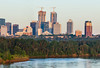 The Tallest Skyscraper, Edmonton (WherezJeff) Tags: alberta cntower edm edmonton epcortower forest jwmarriott northsaskatchewan stantec sunrise cityscape pano panoramic skyline spring twilight canada river d850