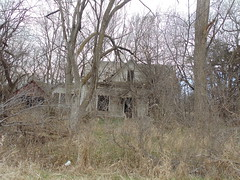 92. A very abandoned house on the north side of town, Randall, 3-27-18 (leverich1991) Tags: exploring kansas 2018 randall ghost town jewell