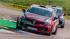 Lee Pattison WDE Motorsport Renault  Clio Sport 220 (jdl1963) Tags: thruxtonbtcctouringcars2018 lee pattison wde motorsport renault clio sport 220 motor racing british
