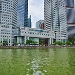 Boat Quay with Central Business District by the river in Singapore thumbnail