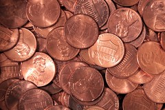 Flickr Friday #Cliches (qorp38) Tags: pennies money