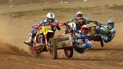 Sidecar MX (Alan McIntosh Photography) Tags: action sport motorsport motorcycle dirt motocross mx harrisville sidecar