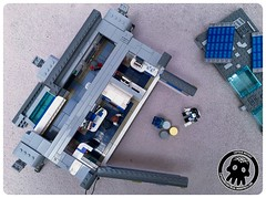 48-47 A View From Above (captainmutant) Tags: afol classic space lego ideas legospace legography photography minifig minifigs minifigure minifigures moc sciencefiction science fiction scifi exploration brickography toy custom