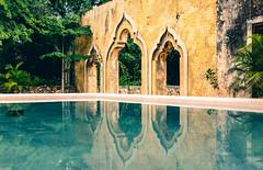 Hacienda San Pedro Ochil (julien.ginefri) Tags: mexico méxico america latinamerica yucatán yucatan hacienda yellow amarillo pool alberca sanpedroochil