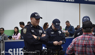 NYPD PBMS Officers at Fleet Week