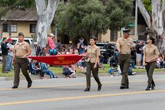 Carson High School Marine Corps JRTOC (mark6mauno) Tags: carson high school marine corps jrtoc 59thannualtorrancearmedforcesdayparade 59th annual armed forces day parade 2018 nikkor 70200mmf28evrfled nikon nikond810 d810