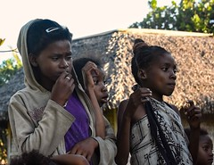 Malagasy girls (Rod Waddington) Tags: africa african afrique afrika madagascar malagasy girls culture cultural children ethnic ethnicity outdoor group girl candid streetphotography