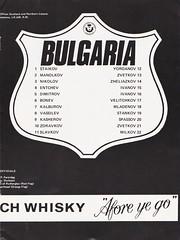 Scotland vs Bulgaria - 1978 - Page 11 (The Sky Strikers) Tags: scotland bulgaria european international match friendly sfa hampden park programme 20p