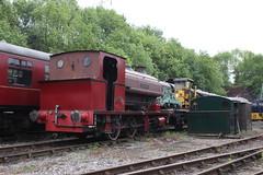 "0-6-0 saddle tank ""Earl Fitzwilliam"" at the Elsecar Railway (372Paul) Tags: elsecarheritagerailway elsecar barnsley steam diesel hunslet avonside 060 sentinel"
