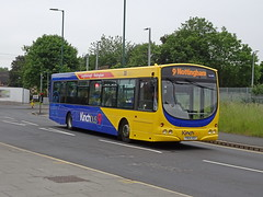Kinchbus 650 Nottingham (Guy Arab UF) Tags: kinchbus 650 fn04hsy scania l94ub wright solar bus arkwright street nottingham wellglade buses wellgladegroup