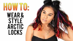 NEW How To Style & Install Arctic Locks Extensions! (yoanndesign) Tags: arcticfoxhaircolor arcticlocks bestextensions clipinextensions coloredhair extensions festivalhair hairextensions hotheadsextensions lizzvargas purplehair purplerain remyrussian remyrussianhair tapeinextensions
