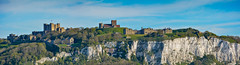 ... Dover, castle and white cliffs ... (wolli s) Tags: uk castle cliff england panorama whitecliffs dover vereinigteskönigreich gb nikon d7100 stitched white