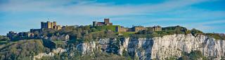 ... Dover, castle and white cliffs ...