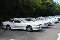 maiks1805002b (tanayan) Tags: car automobile maiko sun shinmaiko chita aichi japan nikon v3 愛知 知多 新舞子 日本 park sunday meeting toyota soarer mark2