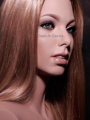 Diane (dashndazzle) Tags: dashndazzle mannequin makeup glass eyes greneker diane free spirit