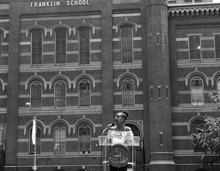 June 4, 2018 Groundbreaking for the transformation of Franklin School into Planet Word