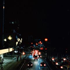 Manila Nightlife (Mikah_Manansala) Tags: analogue analog film filmforever ilovefilm ishootfilm medium format 6x6 hasselblad 500cm night nightlight nightlife travel philippines street