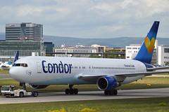 Condor D-ABUE Boeing 767-330ER Winglets cn/26984-518 @ EDDF / FRA 30-04-2018 (Nabil Molinari Photography) Tags: condor dabue boeing 767330er winglets cn26984518 eddf fra 30042018