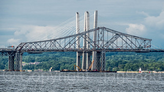 Detached Western Superstructure of original Tappan Zee Bridge, Tarrytown, New York