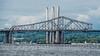 Detached Western Superstructure of original Tappan Zee Bridge, Tarrytown, New York (jag9889) Tags: 1955 2018 20180606 barge bridge bridges bruecke brücke cablestayed cantilever crossing dismantling governormalcolmwilsontappanzeebridge hudsonriver infrastructure k004 k893 kingslandpointlight kingslandpointpark light lighthouse mariomcuomobridge ny navigationalaid newnybridge newyork newyorkthruway orangetown original outdoor pont ponte puente punt river rocklandcounty section sleepyhollowlight southnyack span sparkpluglighthouse structure tappanzee tappanzeebridge tappanzeebridgereplacement tarrytown tarrytownlight usa unitedstates unitedstatesofamerica water waterway westchestercounty jag9889