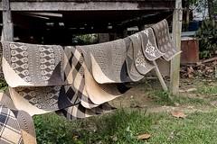 Penan rattan weaving (nancy1607ca) Tags: borneo sarawak mulu penan rattan weaving