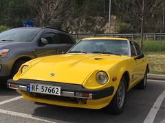 1982 Datsun 280 ZX (Older and rare cars in Norway) Tags: carspotting zx 280 datsun