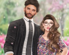 Client Photo: Zoella (Lauryn Sage Greyson) Tags: spring cherry blossom fancy flower flowers tree light pretty brunette couple cute beautiful delicate time