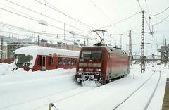 101 034  München Hbf  05.03.06* (w. + h. brutzer) Tags: münchen eisenbahn eisenbahnen train trains railway deutschland germany elok eloks lokomotive locomotive zug 101 db webru analog nikon