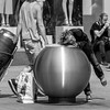 digging for pawn (every pixel counts) Tags: 2018 berlin mitte germany capital eu street 11 city everypixelcounts blackandwhite square trash alexanderplatz berlinalive blackwhite bolsa returnablebottle tray people europa day woman bag daylight
