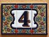 Entre Comarques - Vilallonga (04) (cortocircuito81) Tags: number número portal azulejo