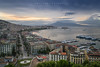 Waiting for a caress from the sun... (Emykla) Tags: sky cielo alba sunrise napoli naples dawn city città italia italy vesuvio vesuvius clouds nuvole sea mare posillipo nikon d3100