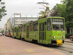 Tatra T6A5, #7927, DP Bratislava (transport131) Tags: tram tramwaj dp bratislava tatra t6a5