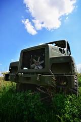 DSC_0040-01 (Stéphane Piegle) Tags: urbex exploration camion truck épave char militaire abandonné armée